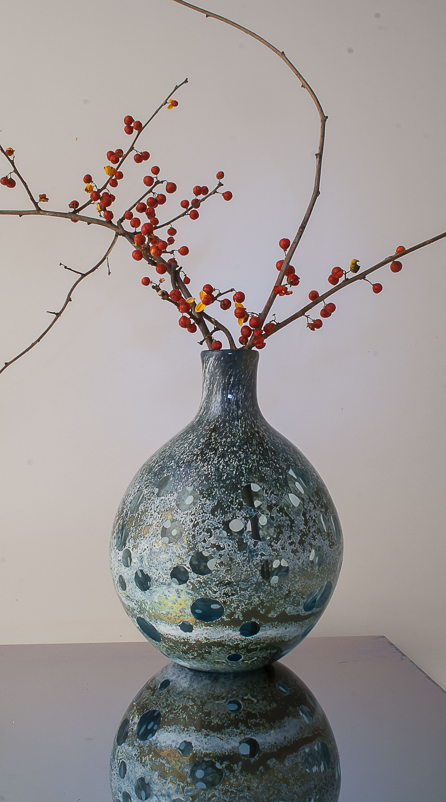 lens vase