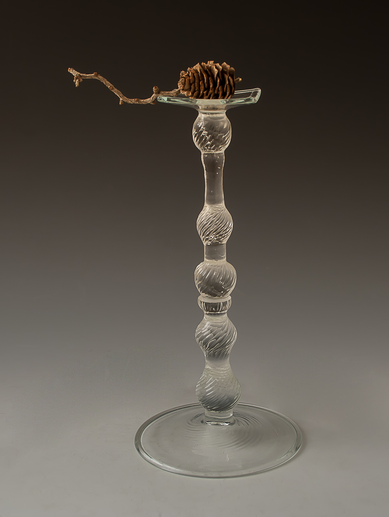 tall tray pedestal ( twist )