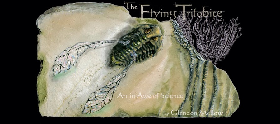 Variations of this image, painted on stone, incorporating pencil and digital elements, graced the header of the blog for over half its existence.