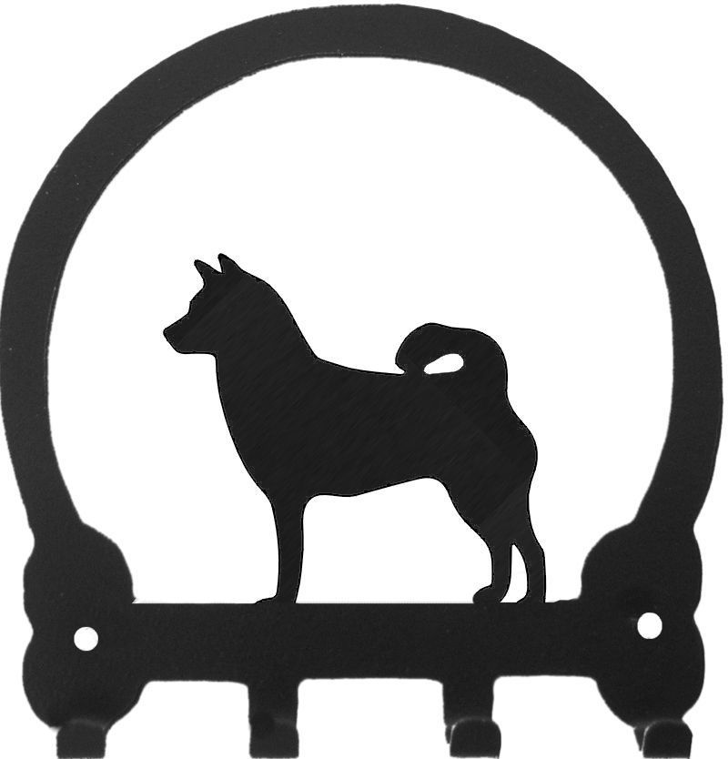 """Key Ring Holder  Breed Specific   Size: 5.5"""" x 5.75"""""""