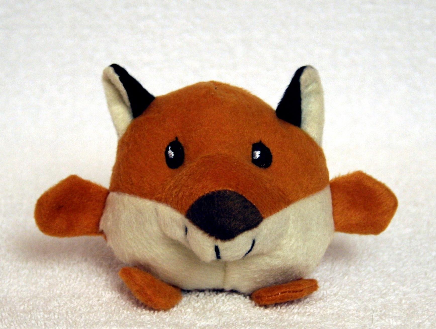 Plush Fox Toy