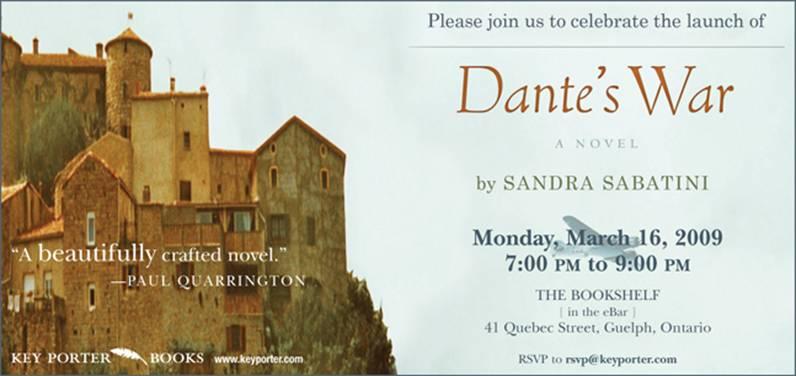 Launch of Dante's War