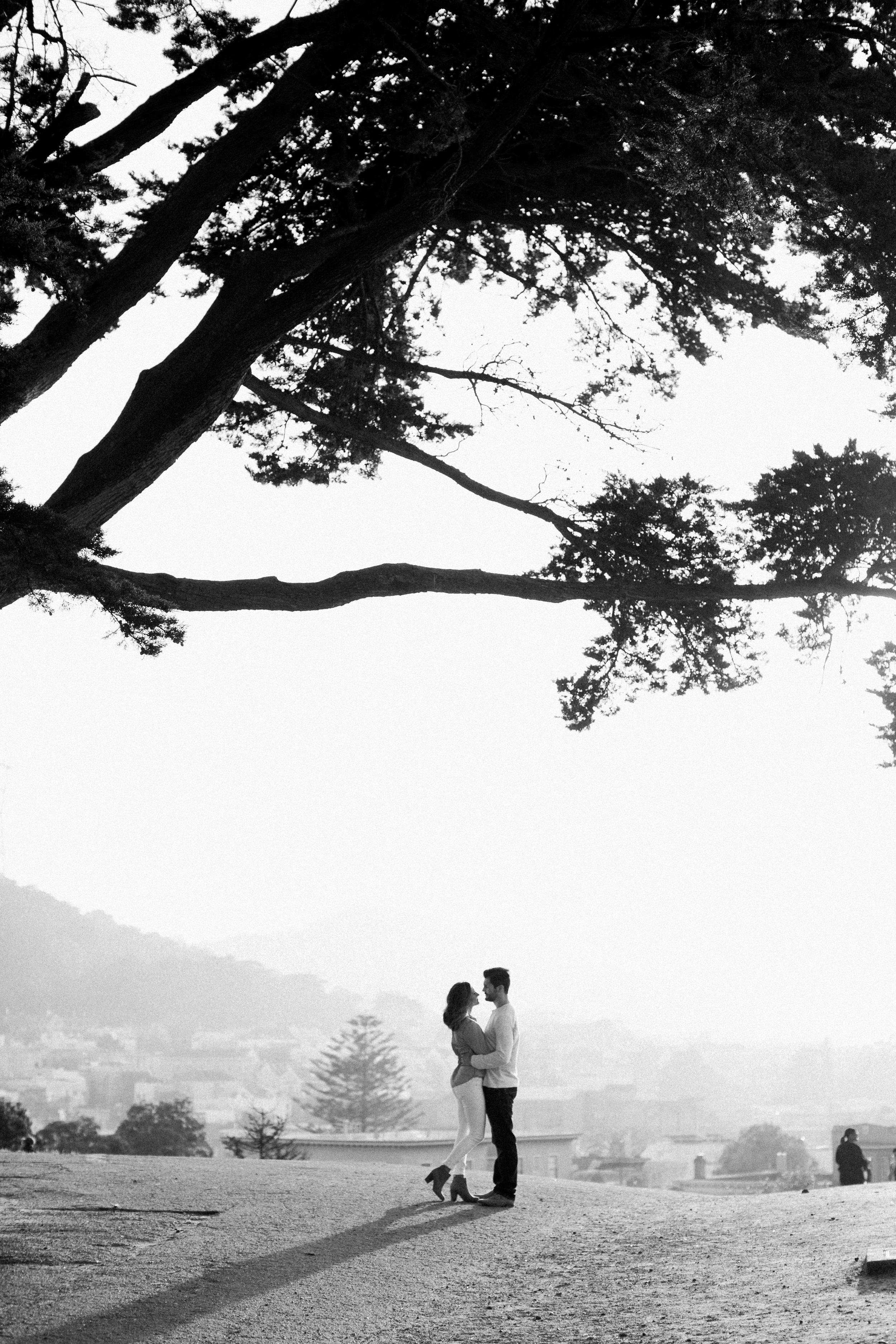 alamo-square-san-francisco-engagement-photography