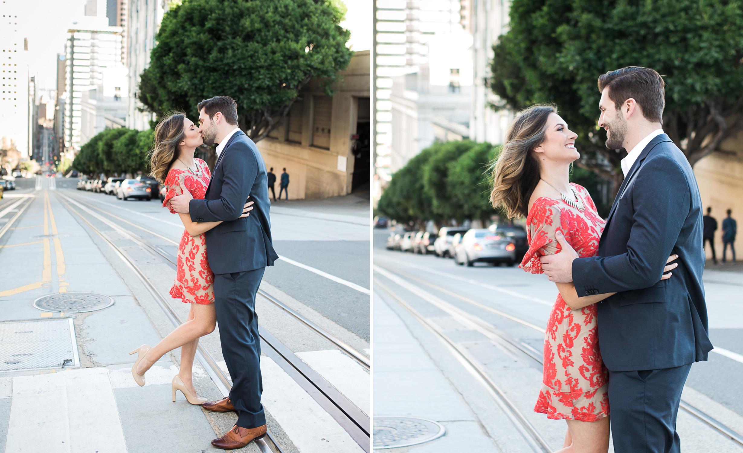 california-street-san-francisco-engagement-photography