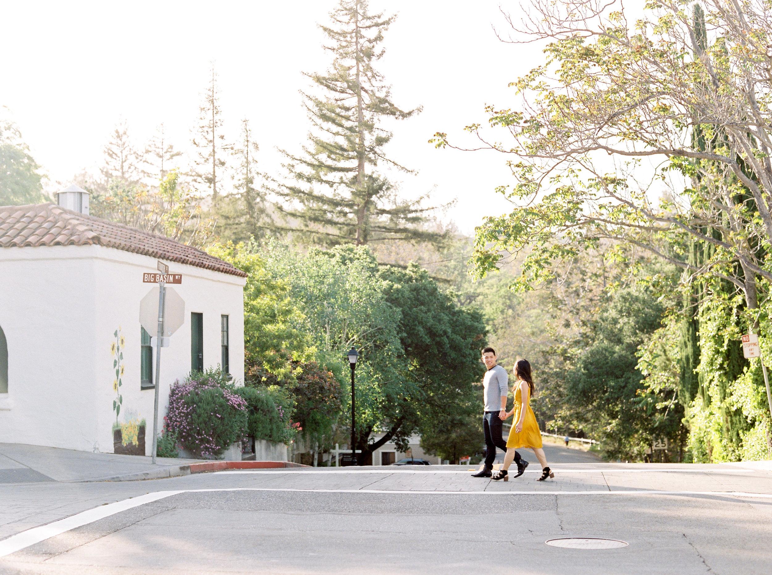 Saratoga Engagement Session - Destination Fine art wedding photography - Kristine Herman Photography
