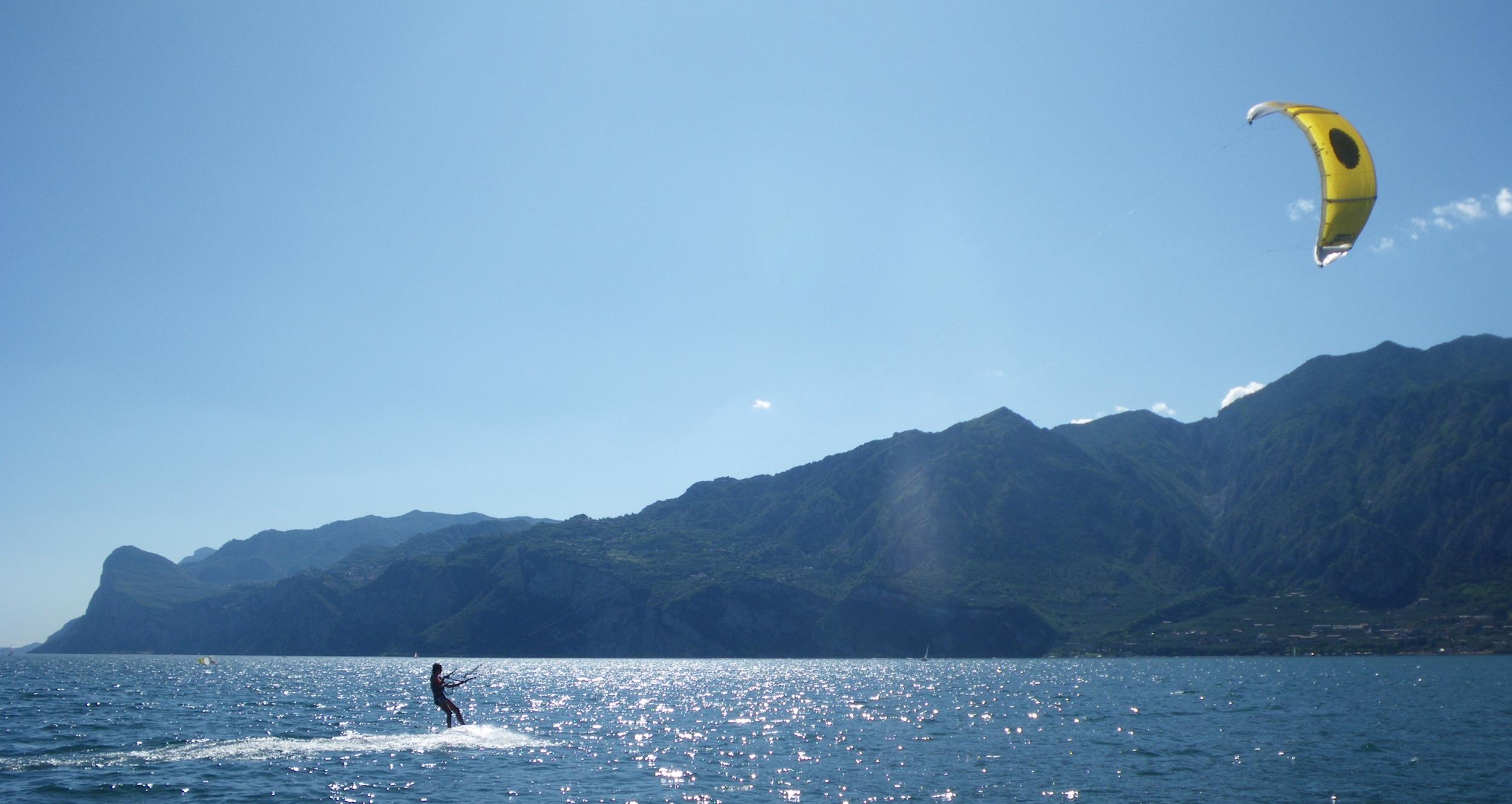 kitesurf gardasøen