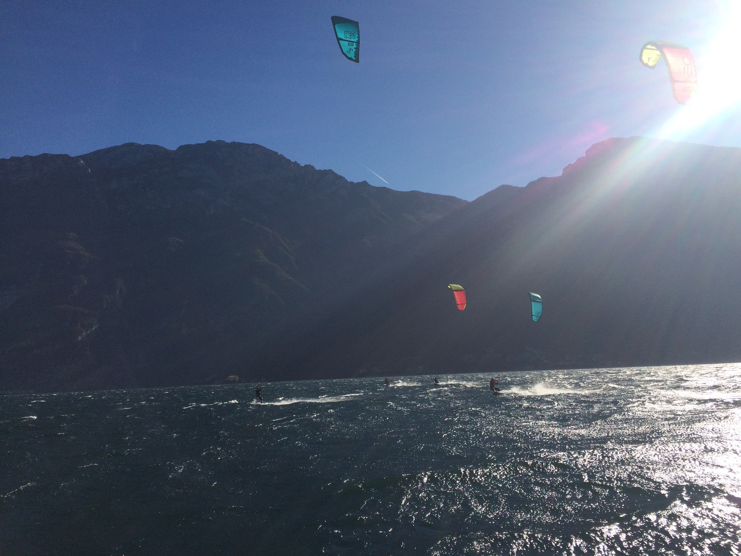 August kitesurf camp Lake Garda
