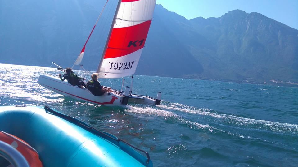 catamaran unterricht october angebot gardasee!