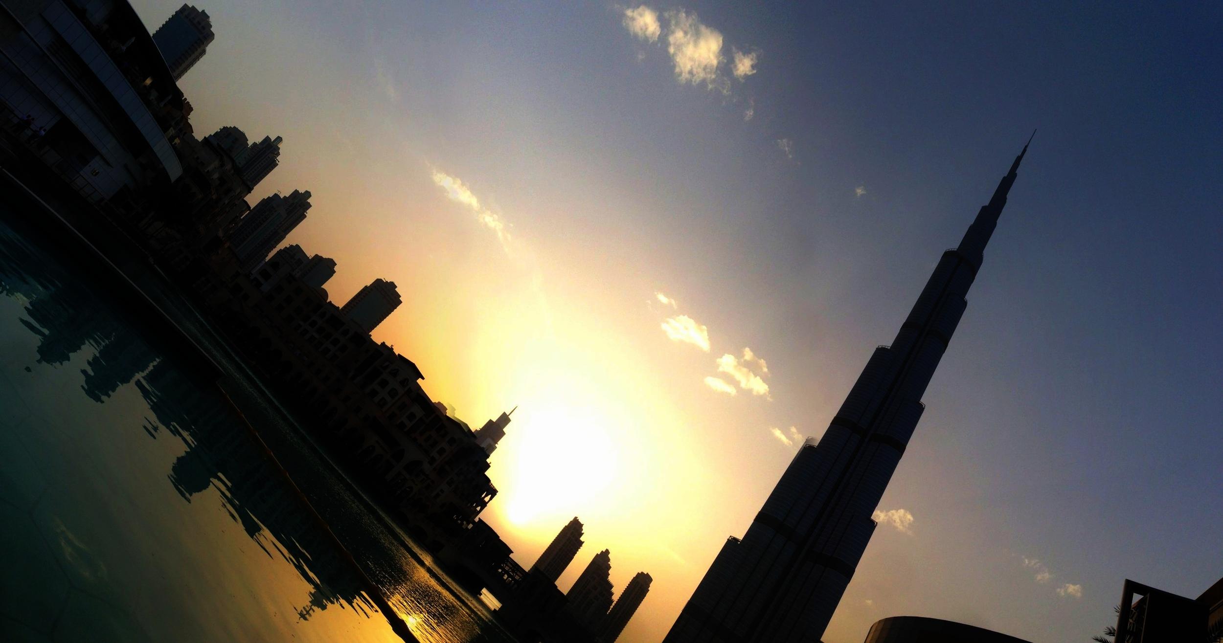 Burj Khalifa, Dubai, Tallest building in the world