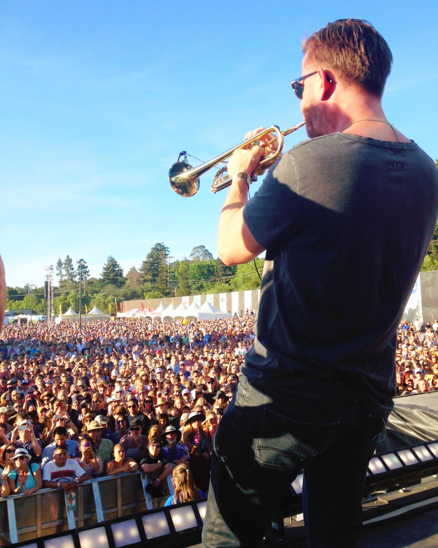 Train 2014, BottleRock Festival