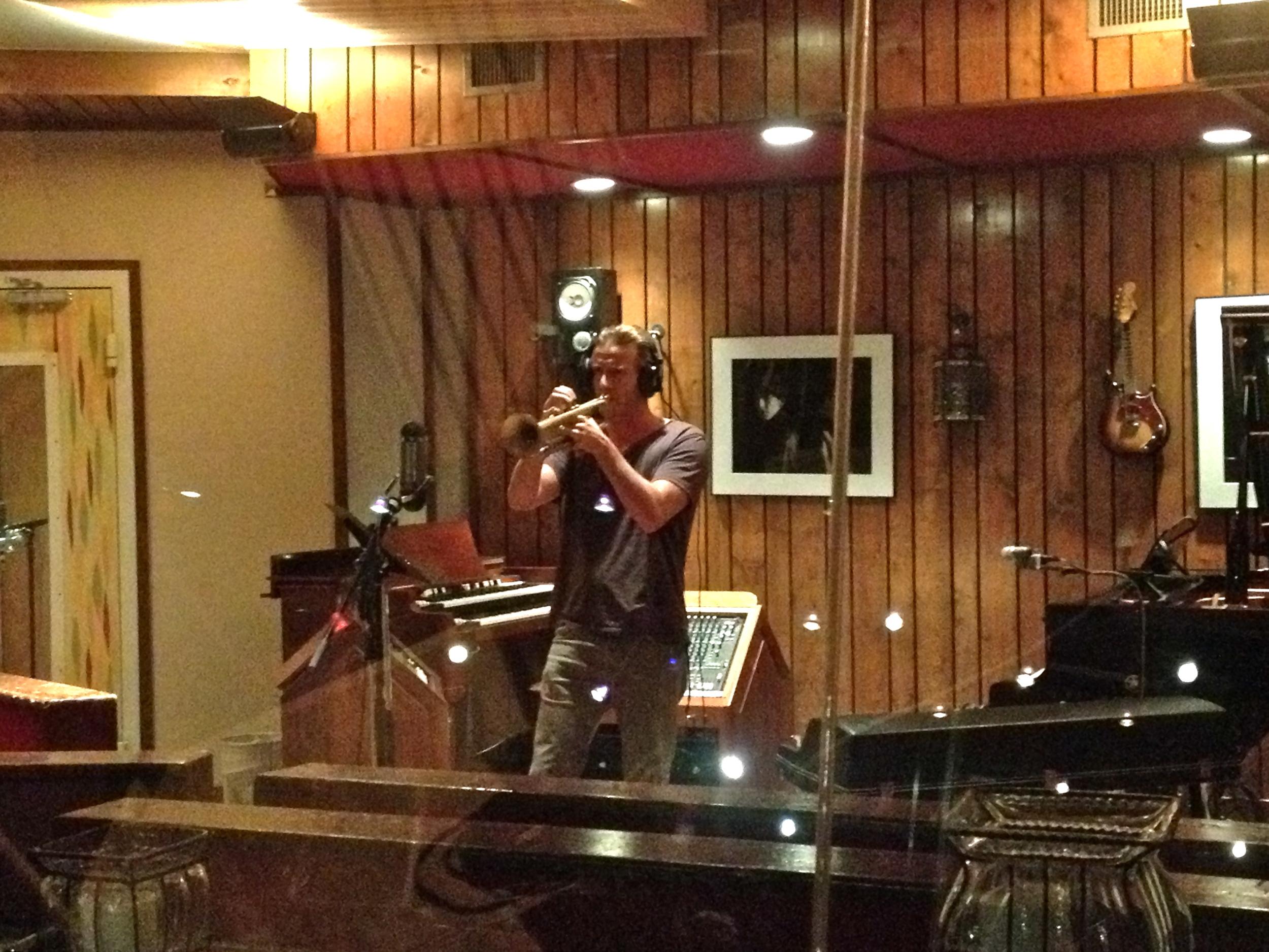 Blackbird Studios, Nashville, Train 2013