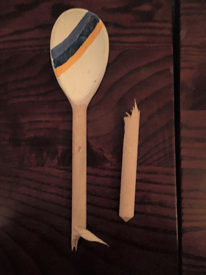 An ex-spoon.
