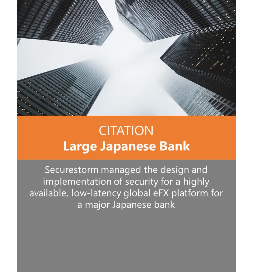Citation - Large Japanese Bank