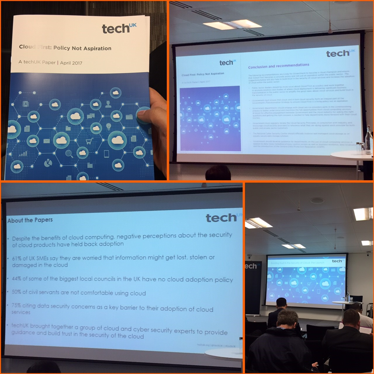 Highlights from  'Building Trust in Cloud Session'