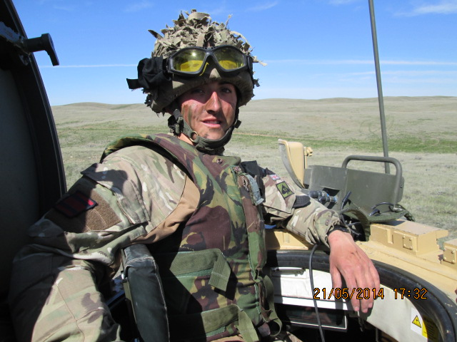 Chris Smith, Royal Engineer                                         British Army