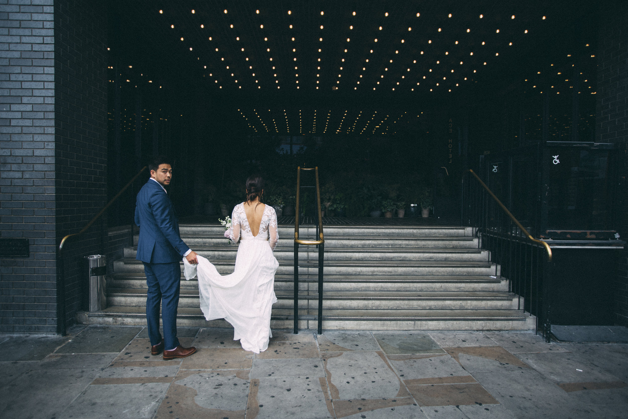 Wedding at Ace Hotel London