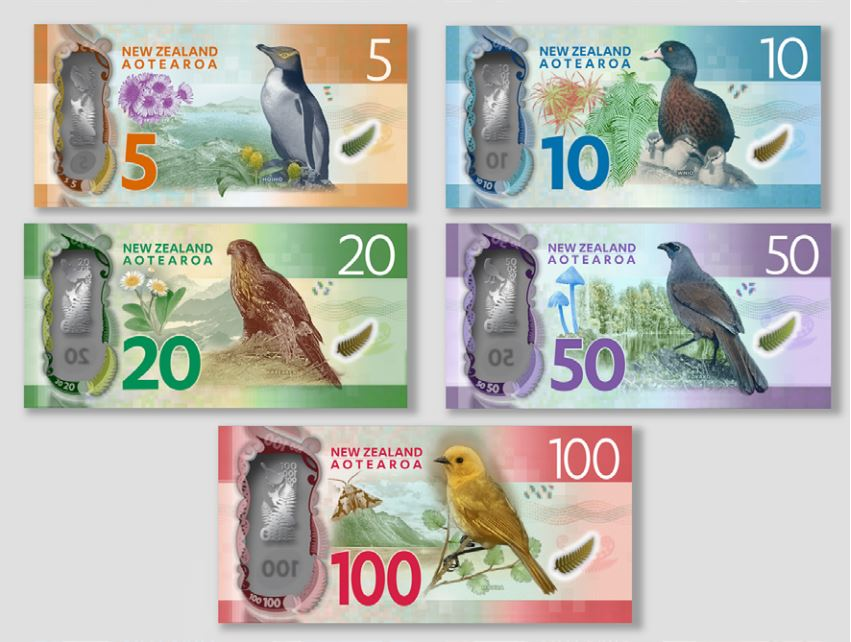 Aotearoa - that's how you design banknotes