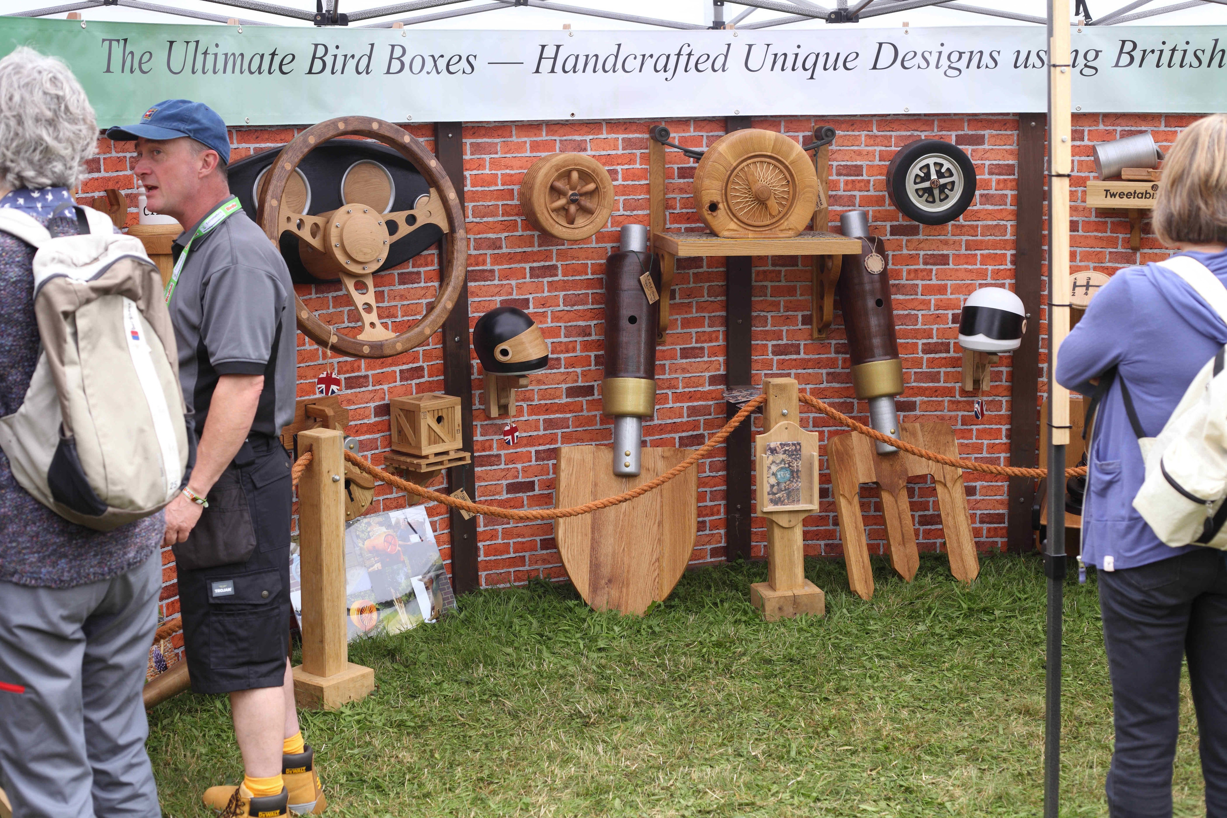 Need a ludicrous bird box for the back yard? You'll find it at Birdfair.