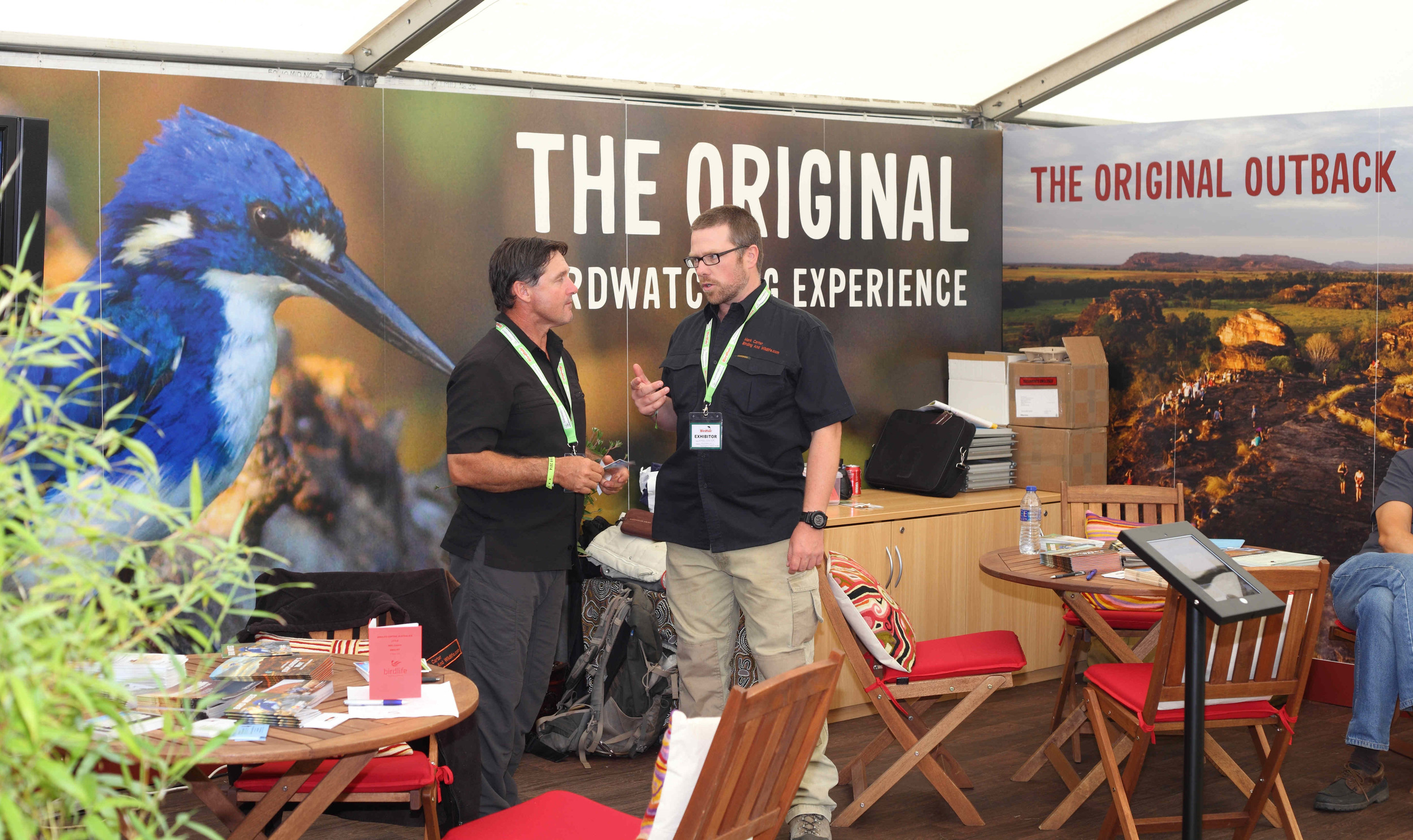 If you want to talk turkey with the Outback experts you have to drop in on the NT stand. There's free stuff and prizes!