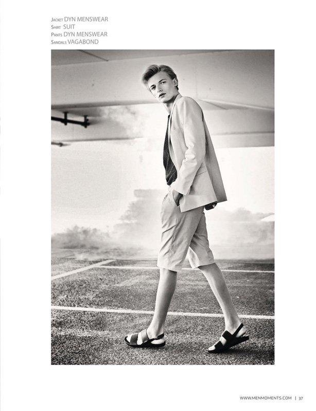 Flemming – Editorial Men Moments Magazine, Fotograf: Claudius Holzmann