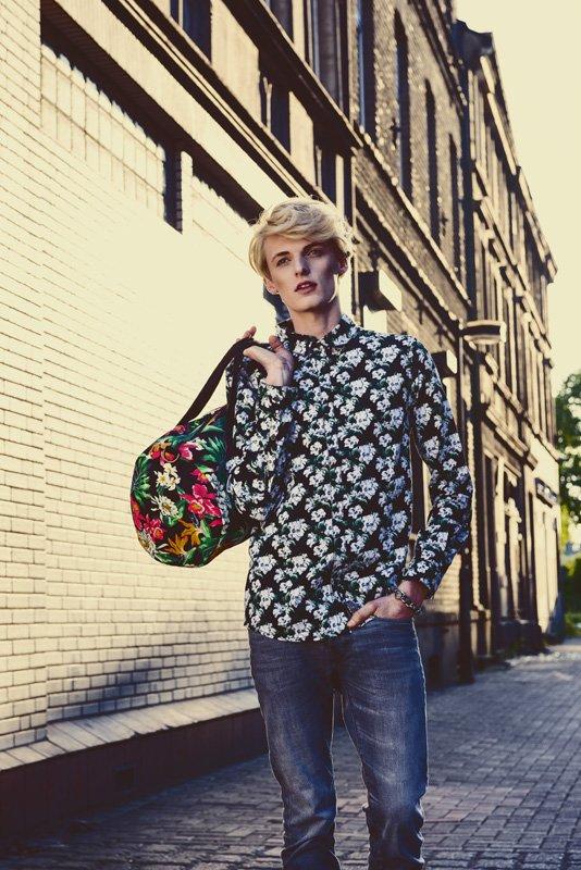 Flemming – Editorial for Fashion GUN Magazine Netherlands by Markus Mielek Dortmund