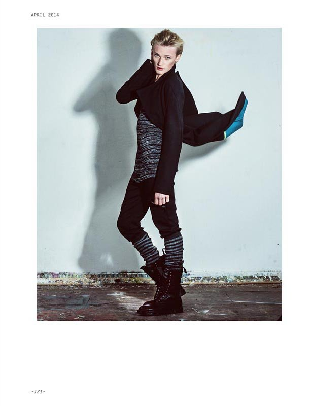 Flemming – Editorial for Superior Magazine Germany by Claudia Diaz