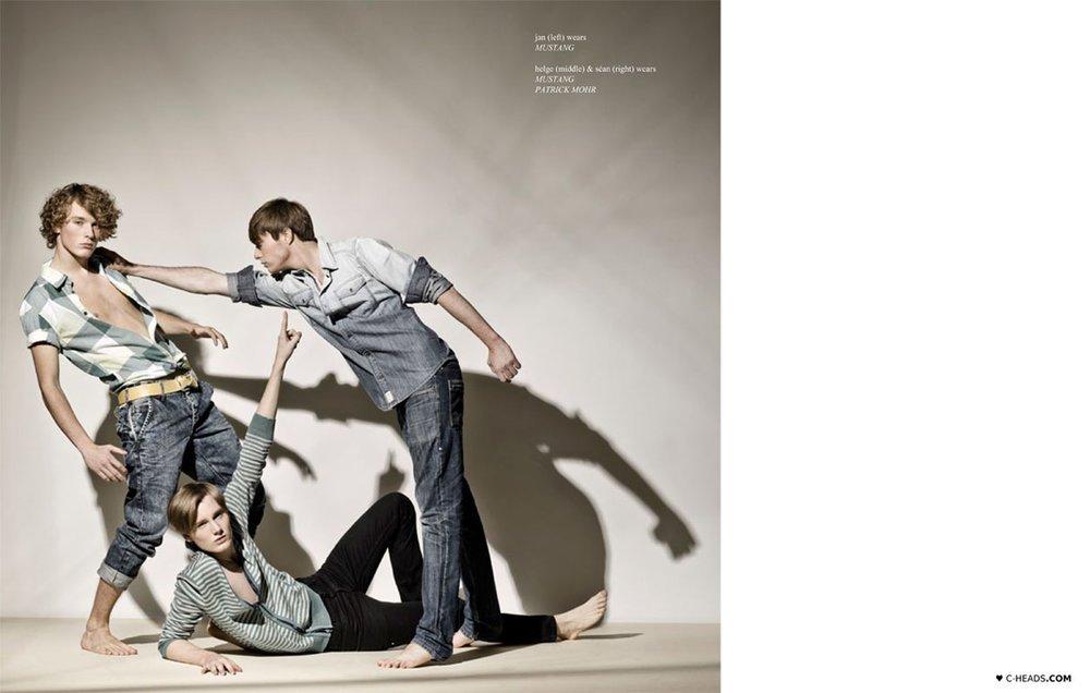 Helge @ DOPAMIN MODELS Düsseldorf – Editorial for C-Heads Magazine Austria by Dr. Bertram H. Schaedle