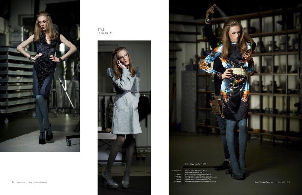 Stas Fedyanin @ DOPAMIN MODELS Düsseldorf – Modelagentur Düsseldorf und Berlin – Editorial for Fashion-Faces Magazine USA by Maurizio Mulas