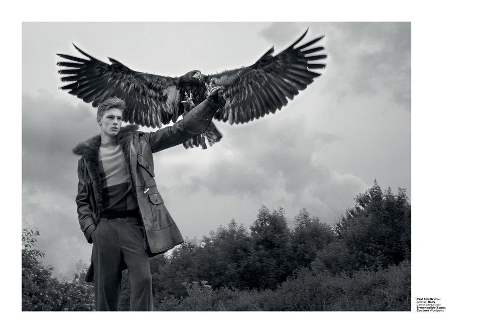 "Mode-Editorial ""Raptorous Pleasures"" für Men's Folio Singapur, Model: Tommy Marr"