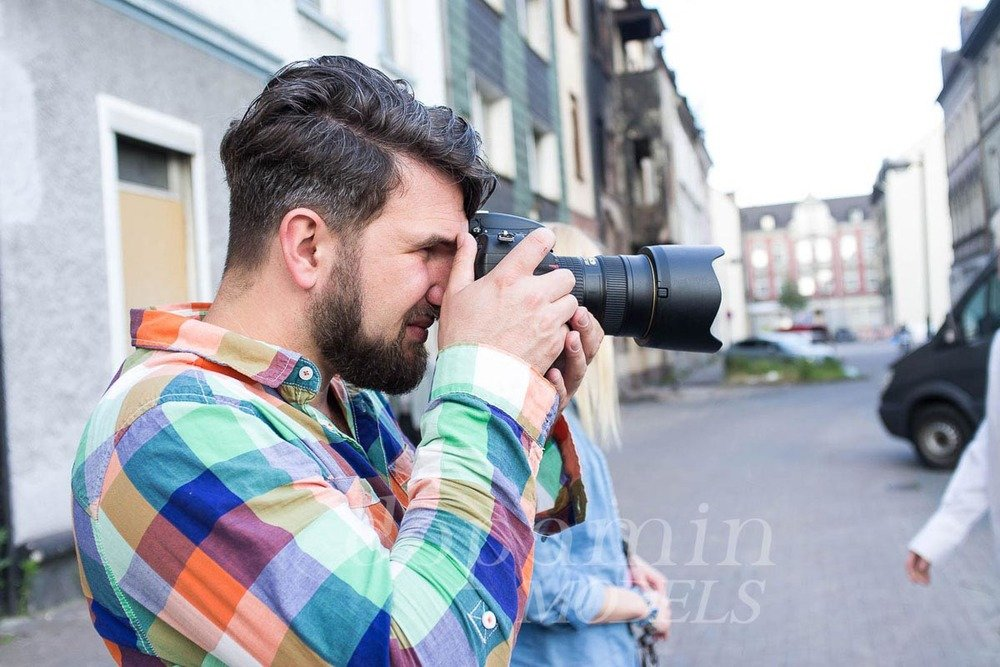 """making-of Editorial """"FLEURS"""" für GUN Magazine, Fotograf: Markus Mielek Dortmund"""