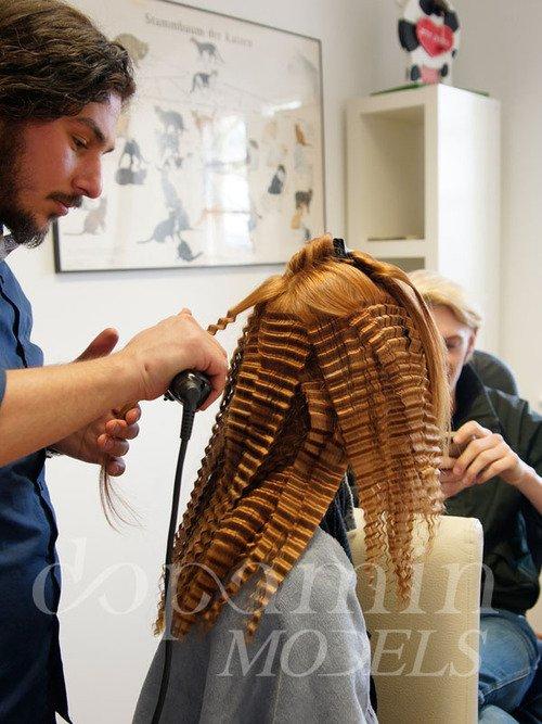 """making-of Mode-Editorial """"La Confiance"""" für Dolce Vita Luxus-Magazin Kanada, Model: Zazoe"""