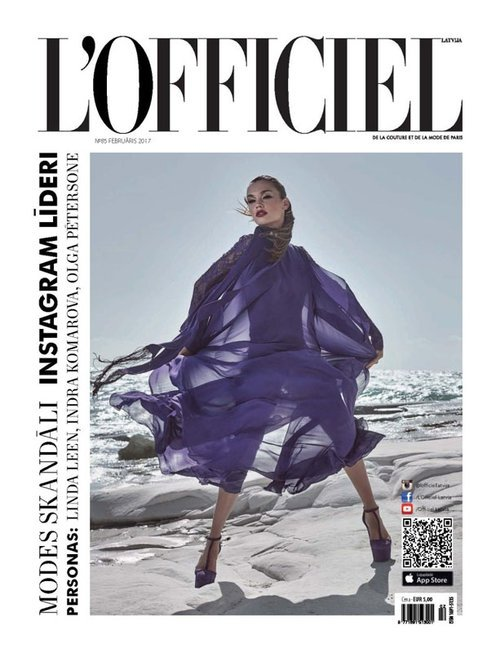 dopamin-lofficiel-latvija-cover-purple rain-bela-raba.jpg