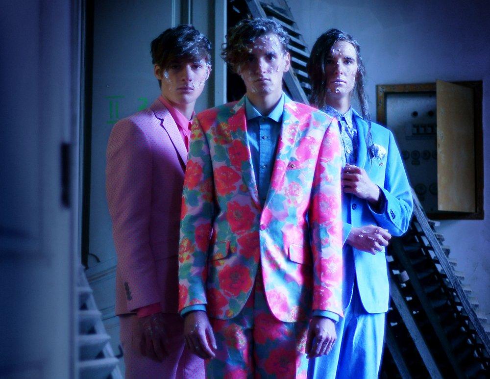 "Dopamin Mode-Editorial ""SUN and ICE"", Models: Dino, Mike & Julian"
