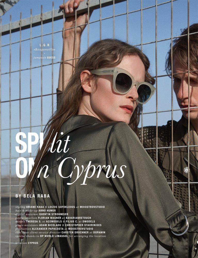 """Spectr Editorial """"Split On Cyprus"""" by Bela Raba München, p. 210"""