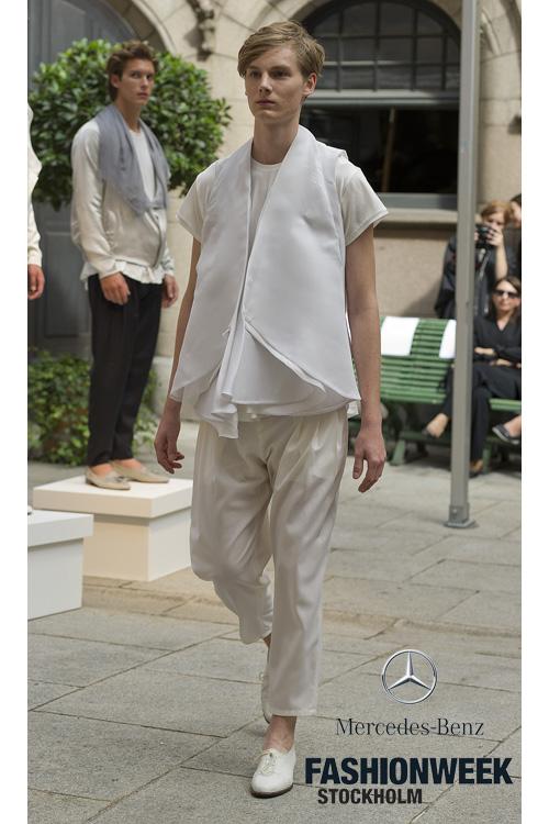 Helge @ DOPAMIN MODELS Düsseldorf – Ubi Sunt Runway Show Stockholm Fashion Week