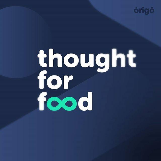 thought for food! @tffchallenge . . . #graphicdesign #design #branding #logo #tff #thoughtforfood #tffchallenge #challenge #summit #shapes #shadows #social #typography #origo #origodesignstudio