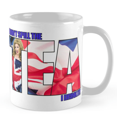 White Maci Tea Mug - $15.00