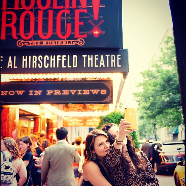 #Repost @moulinrougebway with @get_repost ・・・ Yes they can-can! Meet our fabulous Associate Choreographers, @miadeweese @kspelz 💃✨@teaminfusion teacher, choreographer and alumna @miadeweese #prettycool #teaminfusion #sonyatayeh #moulinrougebway #alhirschfeldtheatre
