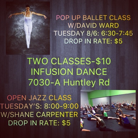 2️⃣ great classes for only 💲1️⃣0️⃣ @teaminfusion with @david_ward2017 and @shane_carpenter_choreo . . . . . . . . . #teaminfusion #balletclass #jazzclass #opendanceclass #allages #adultswelcome #dancestudio #worthingtonohio