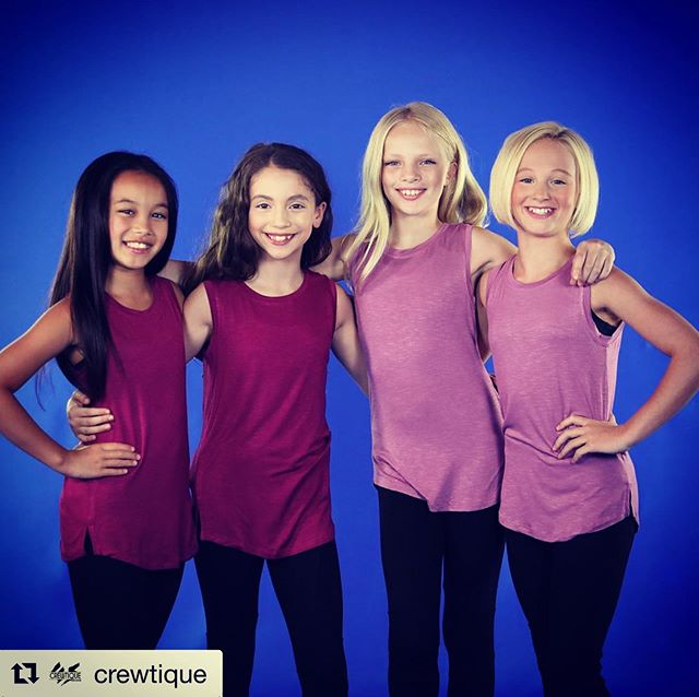 #Repost @crewtique  @ellamyers24 #supermodelstatus 😉 #teaminfusion ❤️ . . This new Long Crewneck Tank has you #covered! Super soft and stretchy and available in SO many colors! Check it now at www.crewtique.com . . #crewtique #movesociety #dancers #teamapparel #dance #dancersofinstagram #danceteacher #custom #team #customize #dancestudio #dancecompetition #embroidery #apparel #danceapparel #screenprint #wholesale #teamjacket #danceteam #teamwear