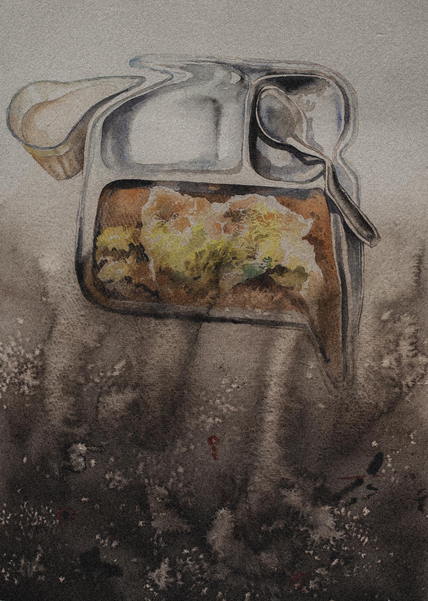 CANTEEN FOOD PORTRAIT.