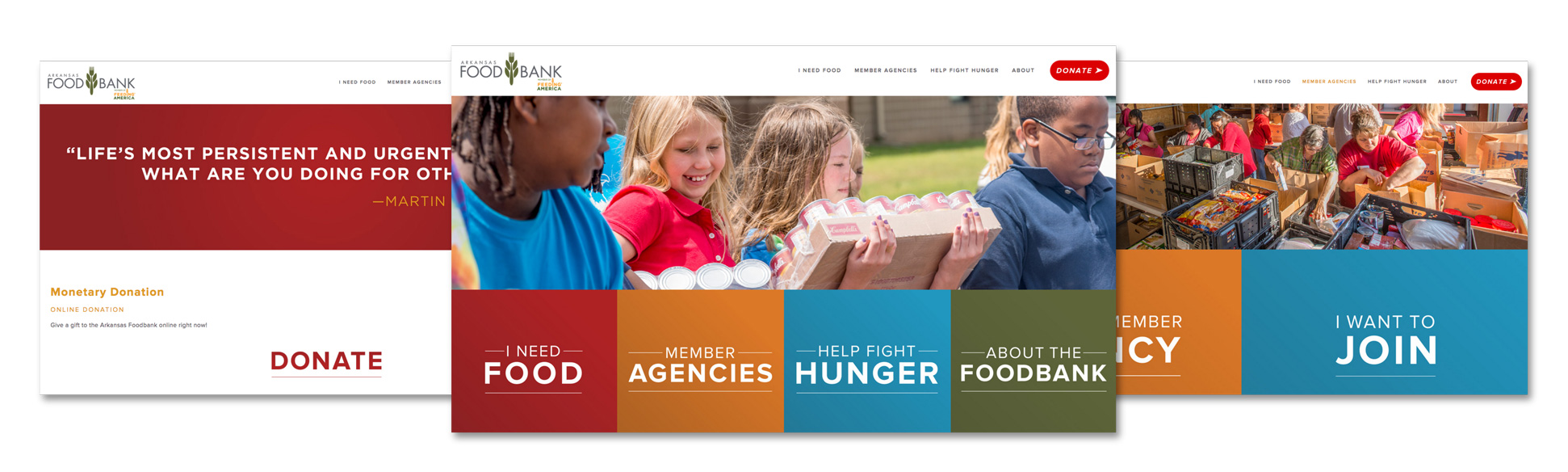 Arkansas Foodbank Website