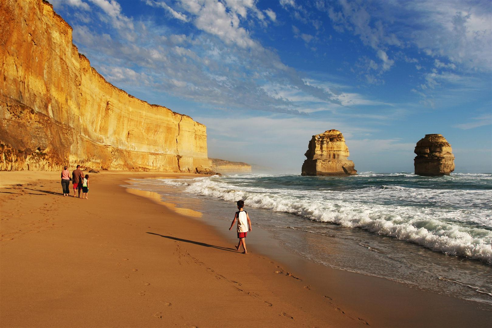 Copy of Surf Beach along Great Ocean Road