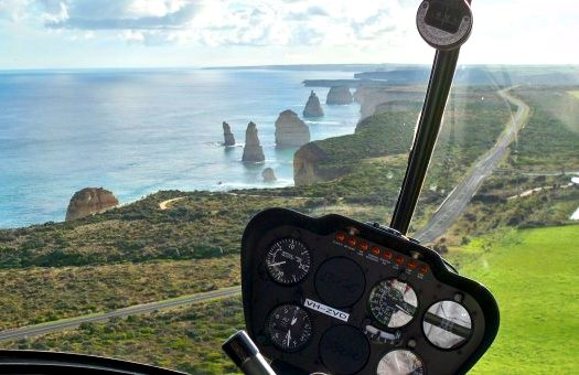 Copy of Helicopter Rides over The Great Ocean Road