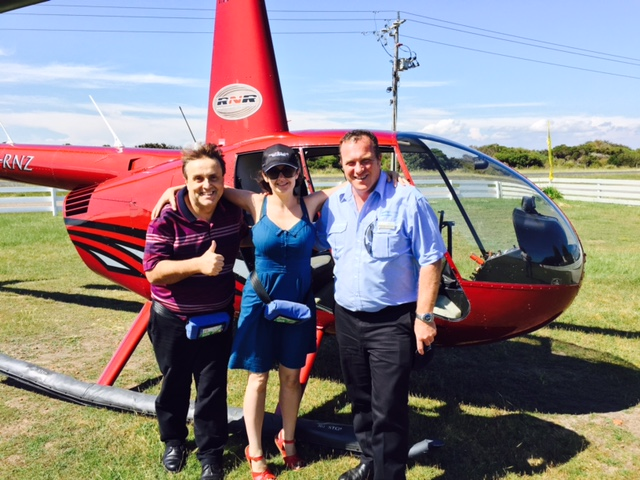 Helicopter Ride over Cape Woolamai