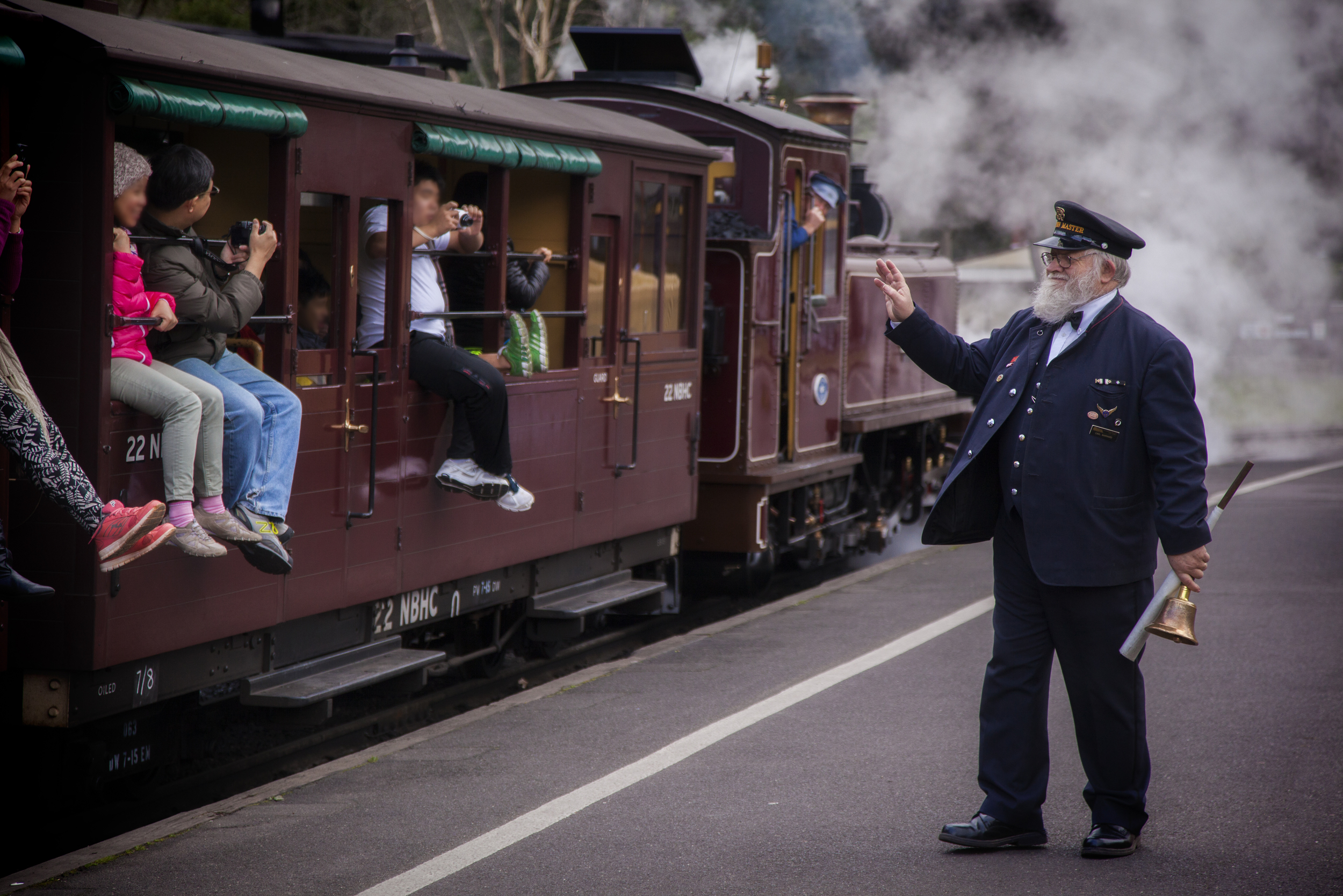 Copy of All aboard Australia's favourite steam train - Puffing Billy