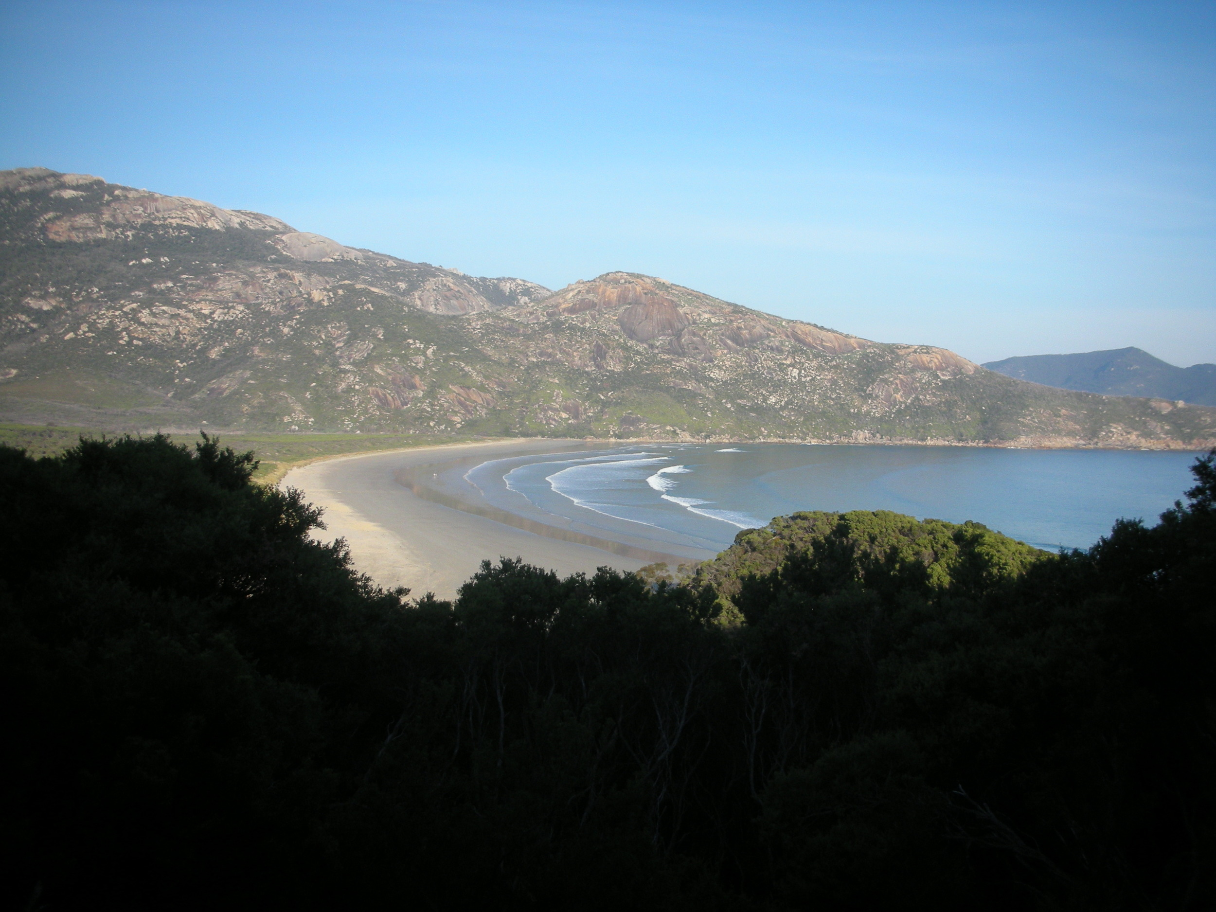 WIlsons Prom distant Beach View