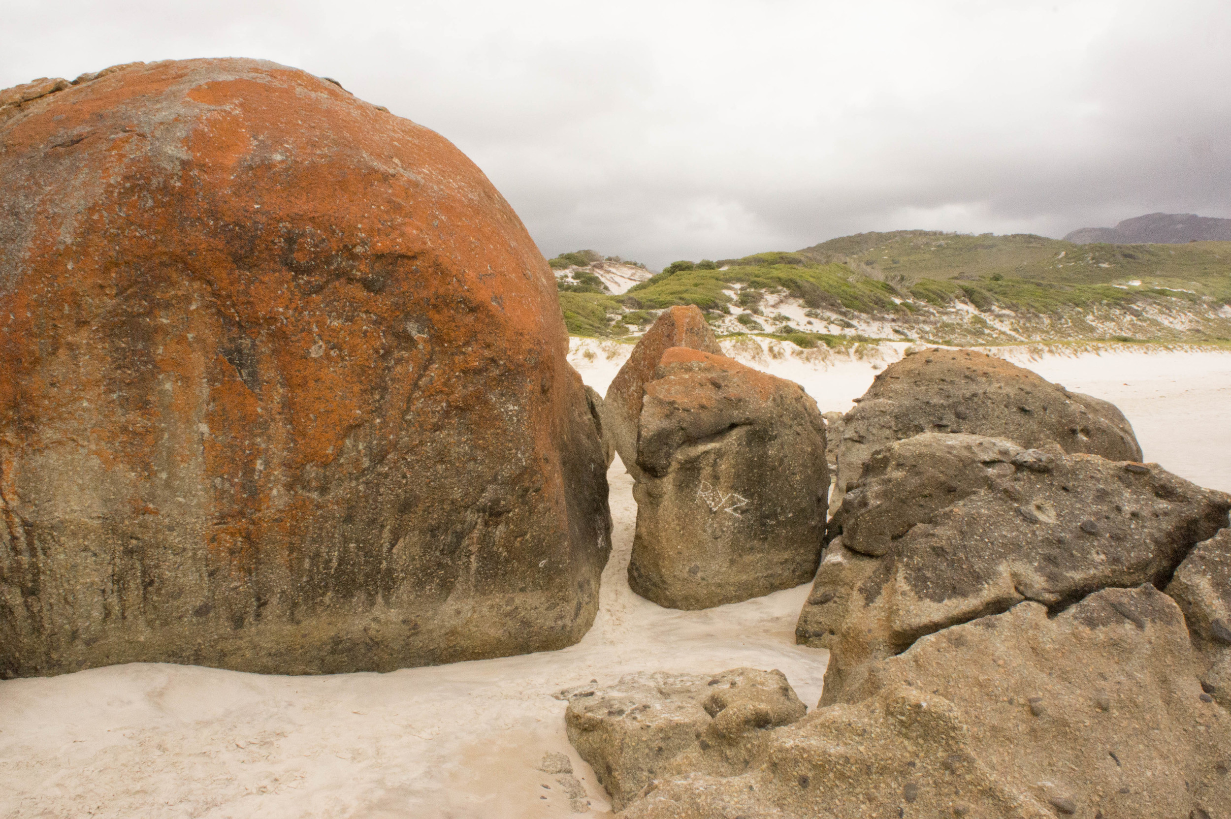 Copy of Beach rocks at the bottom of Wilsons Prom
