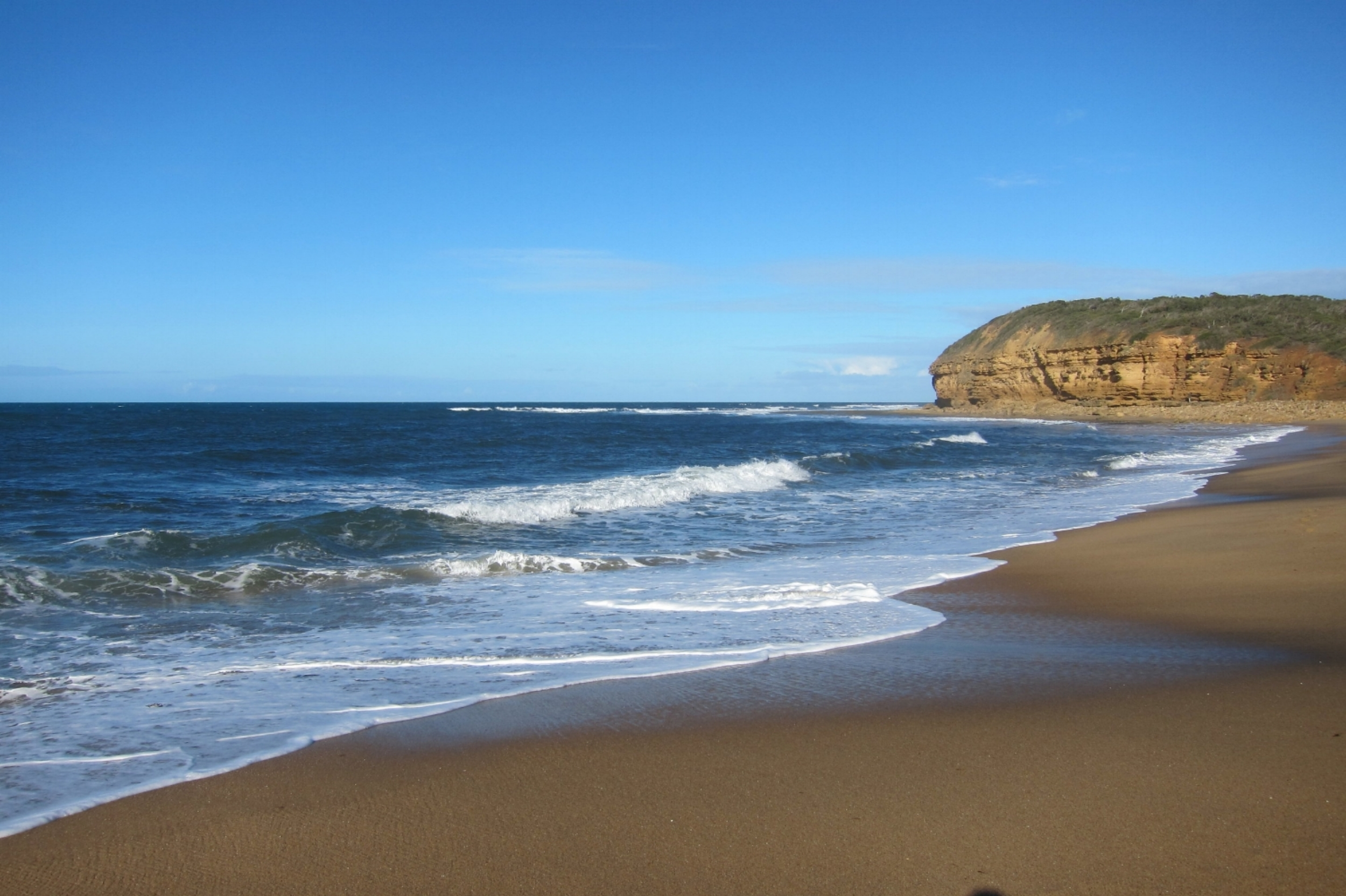 Bells Beach - home of the Rip Curl Surf Pro