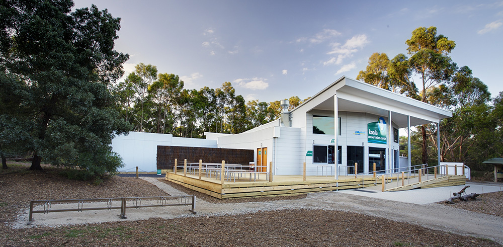 The front of the Koala Conservation Centre